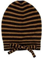 Bonpoint Girls' Wool Striped Beanie w/ Tags