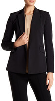Theory Notch Collared Long Sleeve Blazer