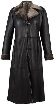 Sheepskin World Ladies Annabel Long (Full Length) Leather & Sheepskin Coat (20