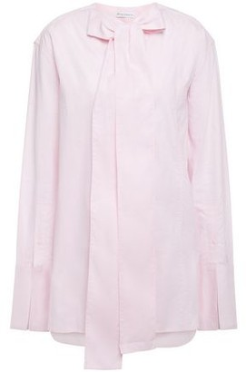 J.W.Anderson Pussy-bow Cotton-pique Shirt