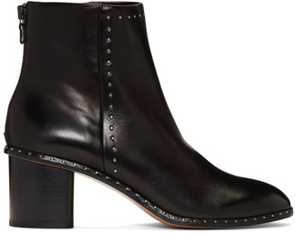 Rag & Bone Black Willow Stud Boots
