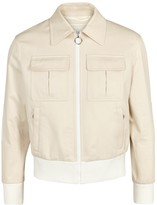 Neil Barrett Ecru Cotton Twill Jacket