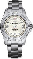 Breitling Colt 36 ladies' mother of pearl dial stainless steel bracelet watch