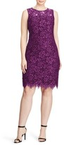 Lauren Ralph Lauren Plus Size Women's Corded Lace Sheath Dress
