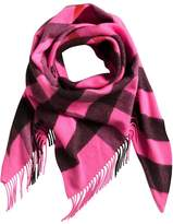 Burberry cashmere check bandana