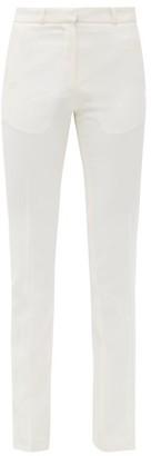 Pallas Paris Hudson High-rise Wool Trousers - White