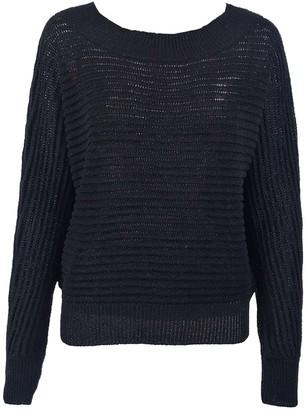 Goodnight Macaroon 'Melissa' Round Neck Horizontal Ribbed Lightweight Sweater(4 Colors)