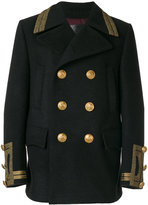 Dolce & Gabbana double breasted coat - men - Cotton/Acetate/Viscose/Virgin Wool - 46