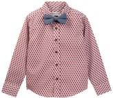 Sovereign Code Atacma Plaid Woven Shirt & Bow Tie (Toddler & Little Boys)