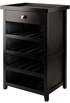 Winsome Wood Zillah Wine Cabinet with Removable Tray