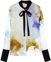 Roksanda Carone printed silk shirt