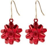 Accessorize Present Bow Short Drop Earrings