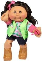 "Cabbage Patch Kids 14"" Kid - Brunette Hair/Blue Eye Girl (Adventure) Baby Doll"