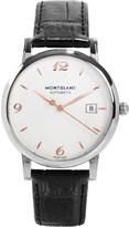 Montblanc 110717 star stainless steel watch
