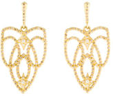 Armenta 18K Diamond Sueno Open Scroll Earrings
