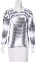 Chinti and Parker Striped Knit Top