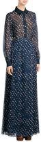Diane von Furstenberg Printed Silk Maxi Skirt