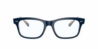 Ray-Ban RX5383F Asian Fit Rectangular Sunglasses