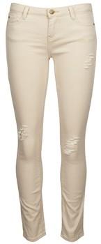 Acquaverde SCARLETT women's Cropped trousers in Beige