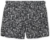 Dolce & Gabbana Mid-length Printed Swim Shorts