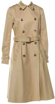 Vanessa Seward Beige Cotton Trench Coat for Women