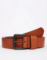 Asos Hand Carved Leather Belt