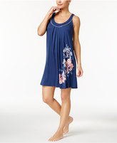 Alfani Printed Pleated Chemise, Only at Macy's