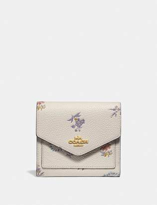 Coach Small Wallet With Meadow Prairie Print