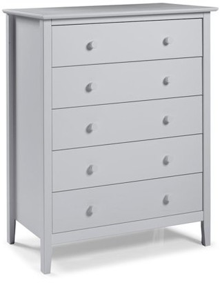 Alaterre Simplicity 5-Drawer Chest, Dove Gray