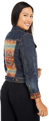 Pendleton Denim/Wool Jean Jacket (Sierra Ridge/Denim) Women's Coat
