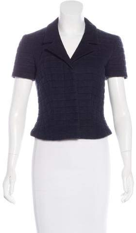Chanel Quilted Short Sleeve Jacket