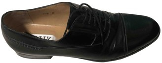 Bally Black Patent leather Lace ups
