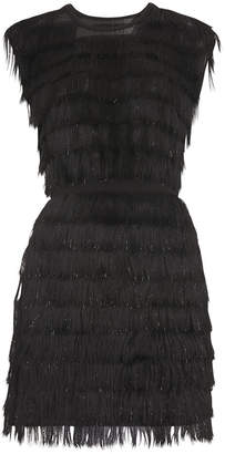 Whistles Ezra Sparkle Tassle Dress
