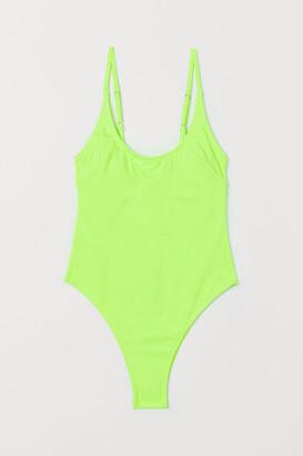 H&M Swimsuit Extra High Leg
