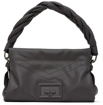 Givenchy Grey Medium ID93 Shoulder Bag