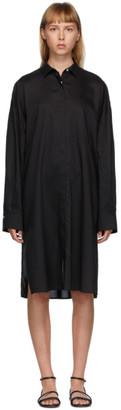 Totême Black Pina Dress