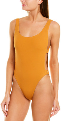 L-Space Scoop Neck One-Piece