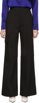 J.W.Anderson Black Wide-leg Trousers