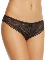 Calvin Klein Sheer Lace Thong #QF1848