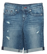 True Religion Boys' Geno Super T Jean Shorts - Little Kid