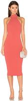 Nookie Basic Instinct Midi Dress in Coral. - size M (also in )