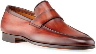 Magnanni Men's Hendidos Flex Leather Loafers