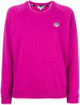 Kenzo tiger embroidered sweatshirt - women - Cotton - L