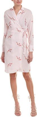 Adeline Floral Wrap Dress