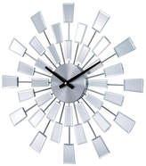 "Stilnovo 19.38"" Mirrored Pixels Wall Clock"