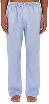 Barneys New York Men's Cotton Pajama Pants-BLUE