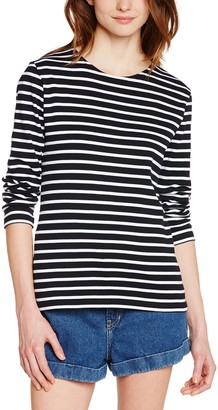 Armor Lux 04277 Women's Striped Long Sleeve T-Shirt