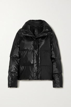 Rains Quilted Padded Shell Jacket - Black