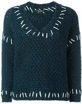 Isabel Marant Goldy jumper - women - Organic Cotton/Acrylic/Polyamide/Wool - 38