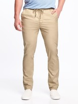 Old Navy Slim Built-In Flex Drawstring Pants for Men
